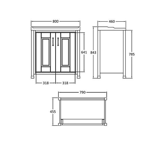 Technical drawing QS-V14330 / NLV305