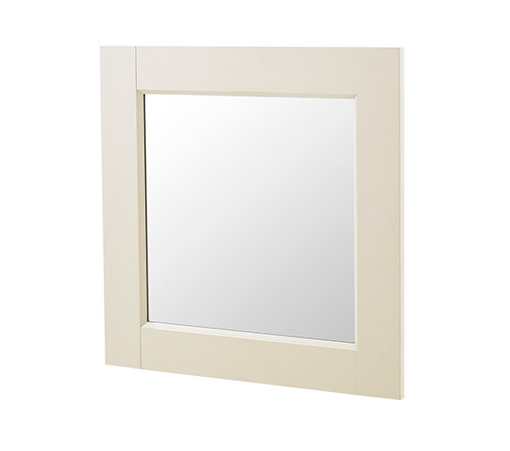 Old London Ivory 600 x 600mm Mirror - NLV313