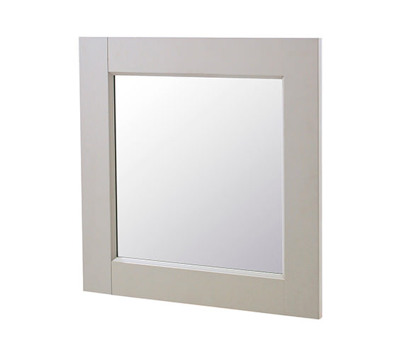 Old London Stone Grey 600 x 600mm Mirror - NLV413