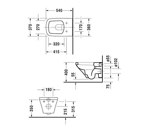 Technical drawing QS-V14484 / 2552090000