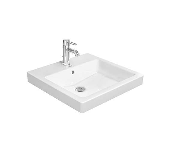 Duravit Vero 500 x 465mm 1 Tap Hole Counter Top Basin - 0315500000
