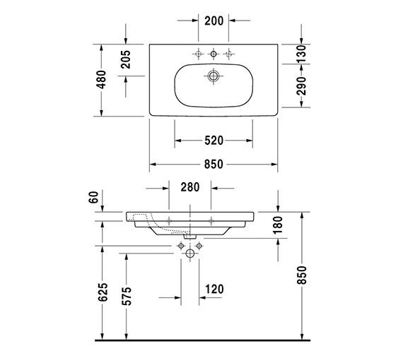 Technical drawing QS-V14494 / 03428500002