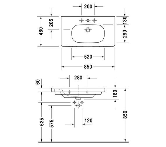 Technical drawing QS-V14495 / 03528500002