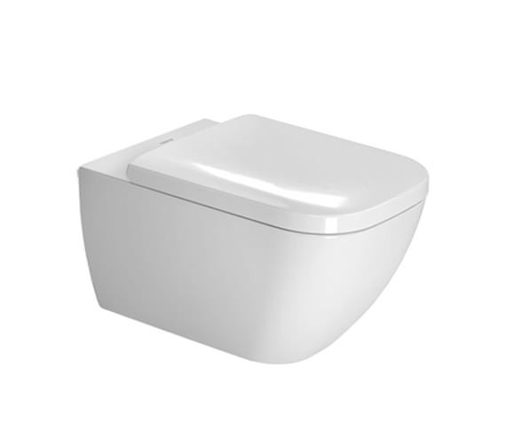 Duravit Happy D2 365 x 540mm Wall Mounted Rimless Toilet