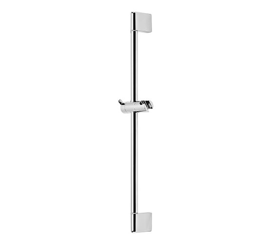 Roper Rhodes Dive Round Riser Shower Rail Chrome - SVRAIL05