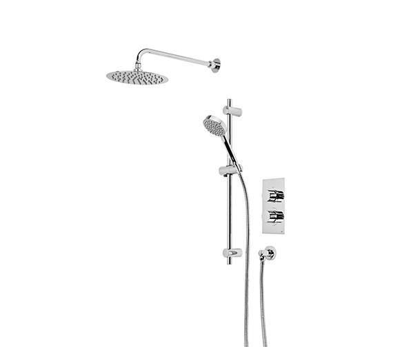 Roper Rhodes Event Round Concealed Dual Function Shower Set - SVSET42