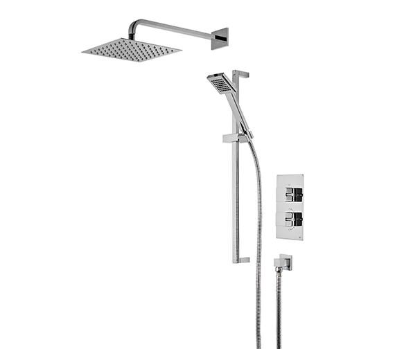 Roper Rhodes Event Square Concealed Dual Function Shower Set - SVSET41