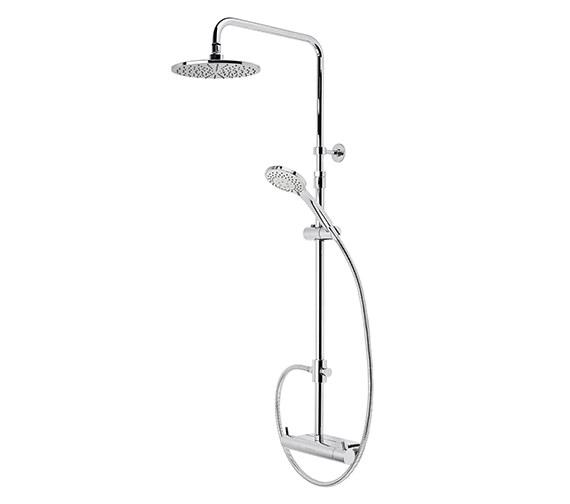Roper Rhodes Storm Exposed 2 Mode Shower Set With Accessory Shelf - SVSET37