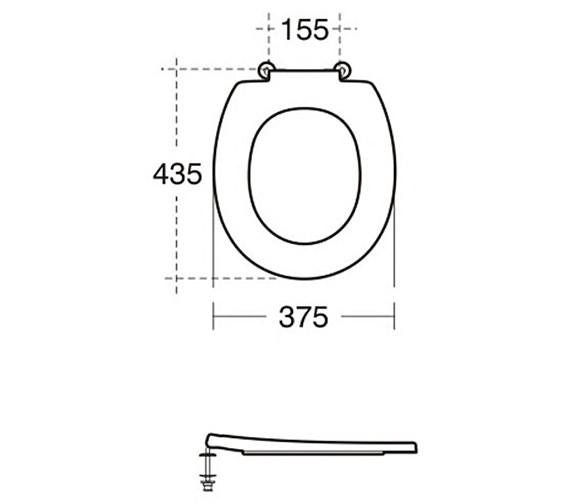 Technical drawing QS-V15078 / S405901