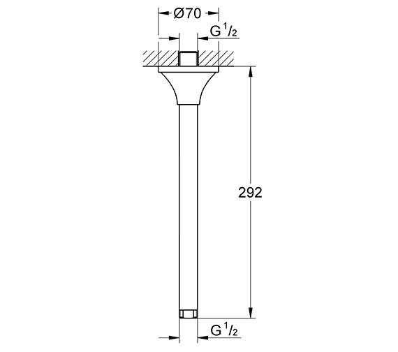 Technical drawing QS-V15097 / 27982000