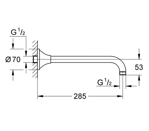 Technical drawing QS-V15098 / 27986000