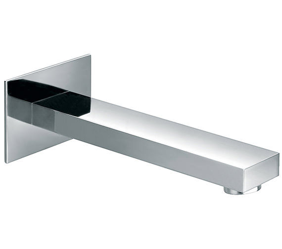 Pura Bloque Wall Mounted 200mm Spout For Basin And Bath