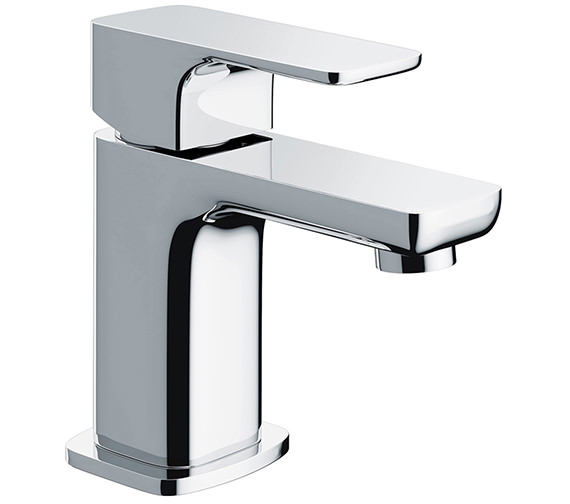 Additional image of Pura Flite Single Lever Basin Mixer Tap With Clicker Waste