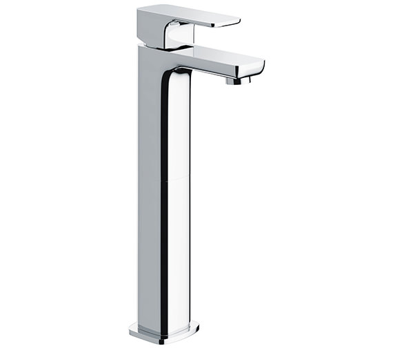 Alternate image of Pura Flite Single Lever Basin Mixer Tap With Clicker Waste