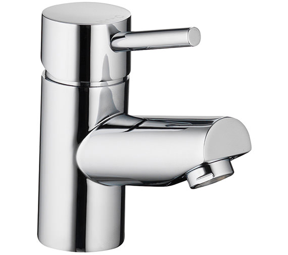 Pura Xcite Single Lever Basin Mixer Tap With Clicker Waste