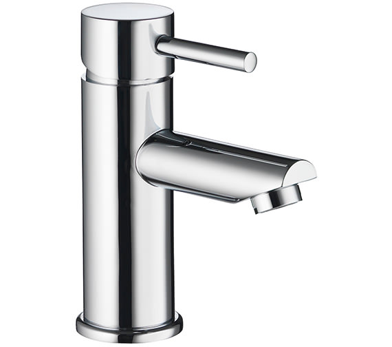 Pura Ivo Single Lever Basin Mixer Tap With Clicker Waste - IVBAS