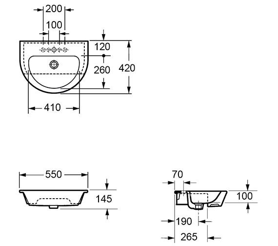 Technical drawing QS-V15277 / LS1088