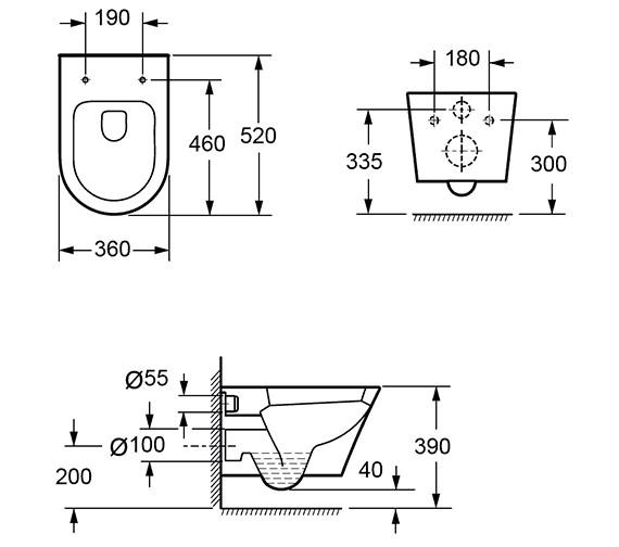 Technical drawing QS-V15283 / CH1088