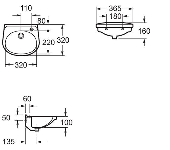 Technical drawing QS-V15296 / LH10191TH