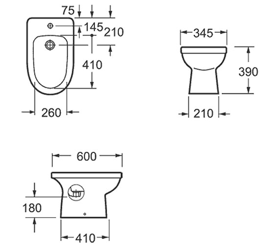 Technical drawing QS-V15298 / B1076