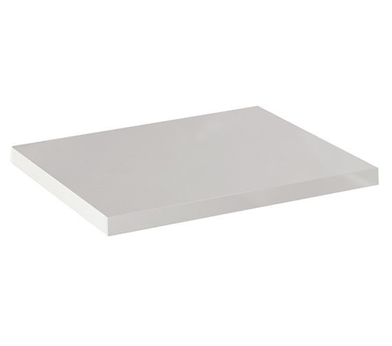 IMEX Echo White Gloss Finish Worktop