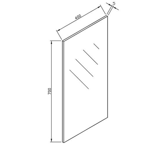 Technical drawing QS-V15316 / ECM40