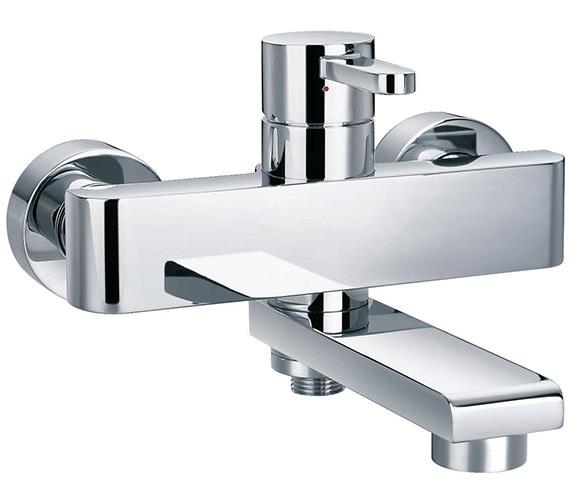 Flova Essence Manual Wall Mounted Bath-Shower Mixer Tap