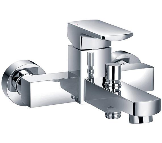 Flova Dekka Wall Or Deck Mounted Bath Shower Mixer Tap