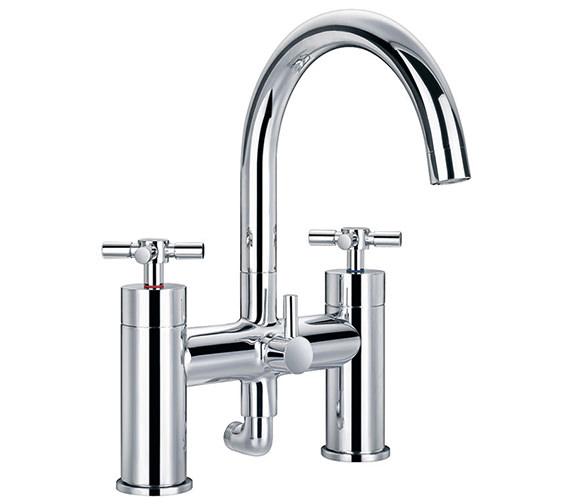 Flova XL Bath Shower-Mixer Tap With Handset And Hose