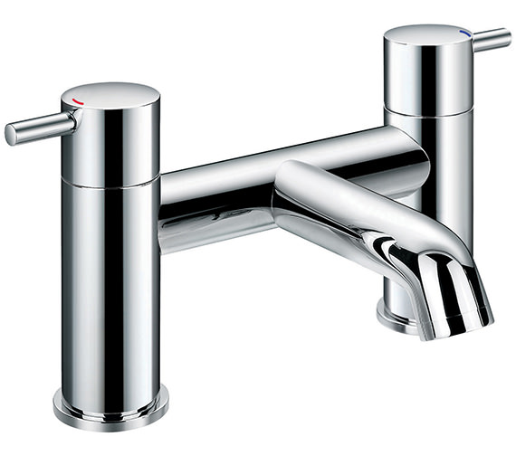Flova Levo Deck Mounted Bath Filler Tap - LVBF