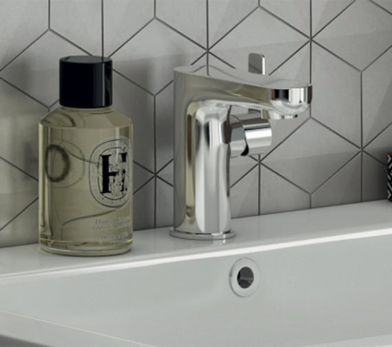 Pura Echo Side Lever Basin Mixer Tap With Clicker Waste