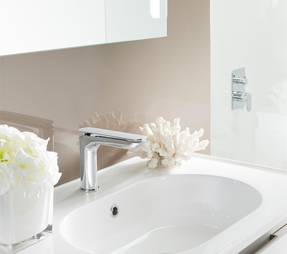 Additional image of Crosswater Kelly Hoppen Zero 2 Monobloc Basin Mixer Tap