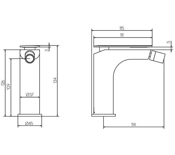 Technical drawing QS-V15601 / KH02_210DPC