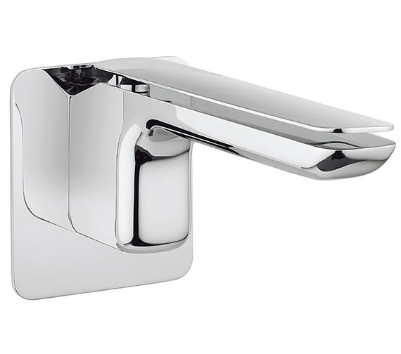 Crosswater Kelly Hoppen Zero 2 Wall Mounted 2 Hole Basin Mixer Tap Set