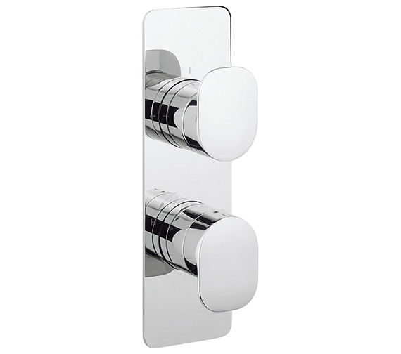 Crosswater Kelly Hoppen Zero 2 Thermostatic Valve With 3 Way Diverter