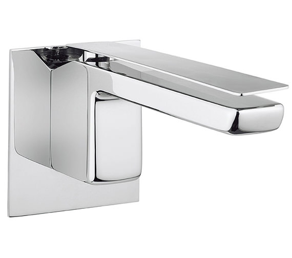 Crosswater Kelly Hoppen Zero 3 Wall Mounted 2 Hole Basin Mixer Tap Set