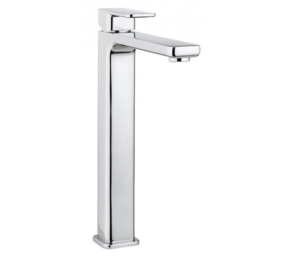 Crosswater Atoll Monobloc Tall Basin Mixer Tap - AT112DNC