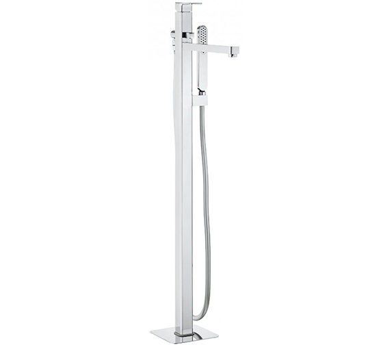 Crosswater Atoll Floor Standing Bath Shower Mixer Tap With Kit