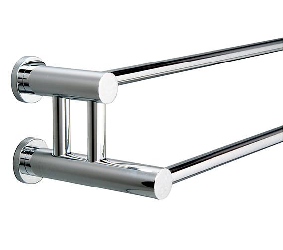 Miller Montana Double Towel Rail 650mm - 6727C