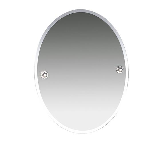 Miller Oslo 400 x 505mm Bevelled Mirror - 8000C