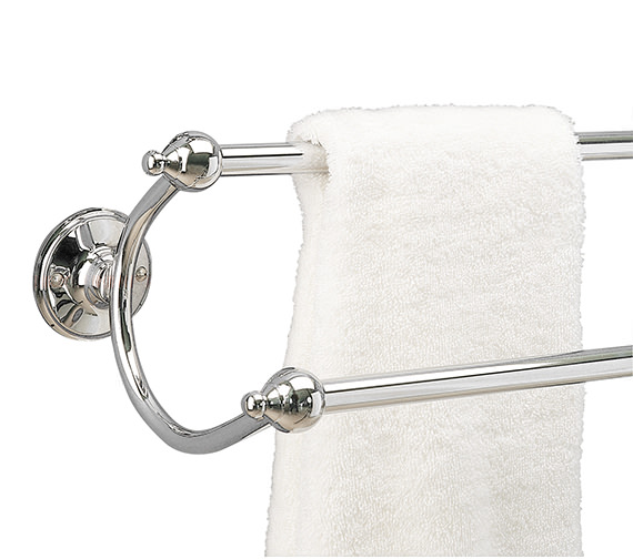 Miller Stockholm Traditional Double Towel Rail