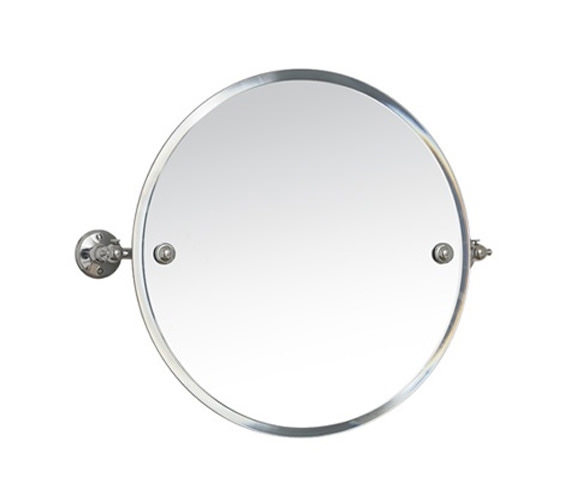 Miller Stockholm 450mm Round Swivel Mirror - 641C