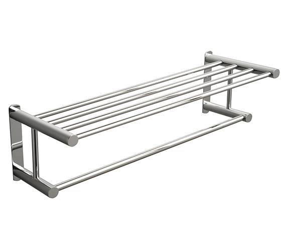 Miller Classic Towel Rack With Rail 620mm - 667C