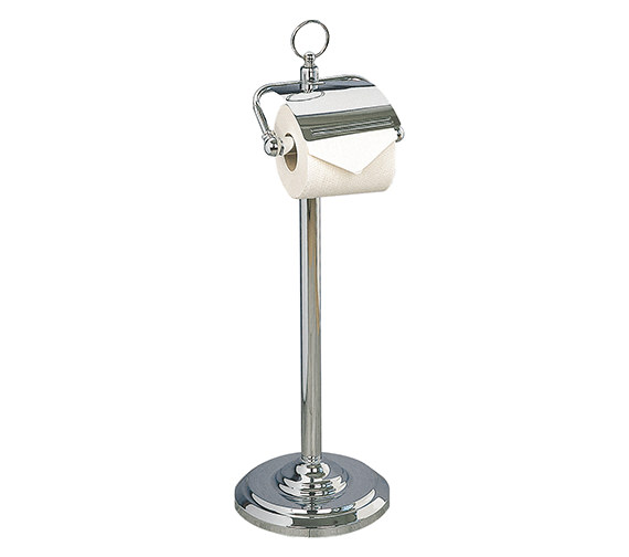 Miller Classic Free Standing Paper Roll Holder With Lid - 5658CH