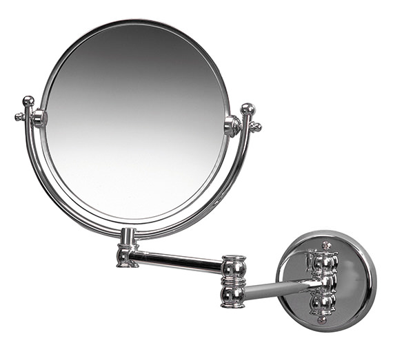 Miller Classic Traditional 190mm Round Magnifying Mirror - 681C