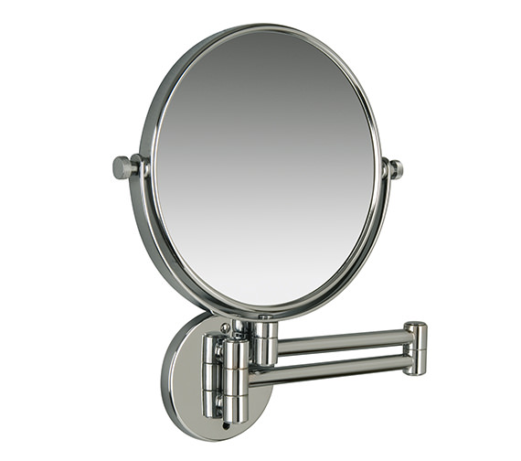 extending bathroom mirror miller classic modern 190mm magnifying mirror 8781c 12808
