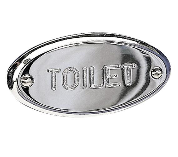 Miller Classic Toilet Sign - 722C