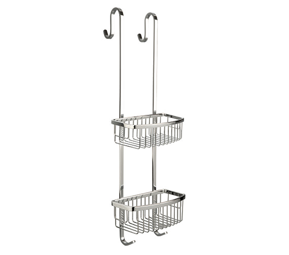 Miller Classic Two Tier 650mm High Shower Caddy