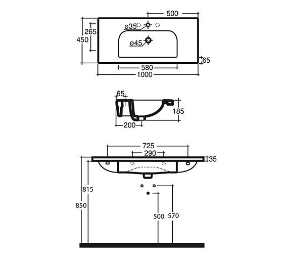 Technical drawing QS-V15889 / 122W1