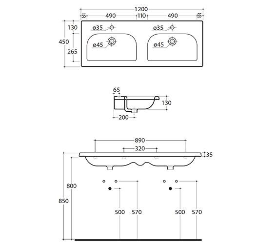 Technical drawing QS-V15890 / 123W1